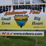 East Vandergrift Sign