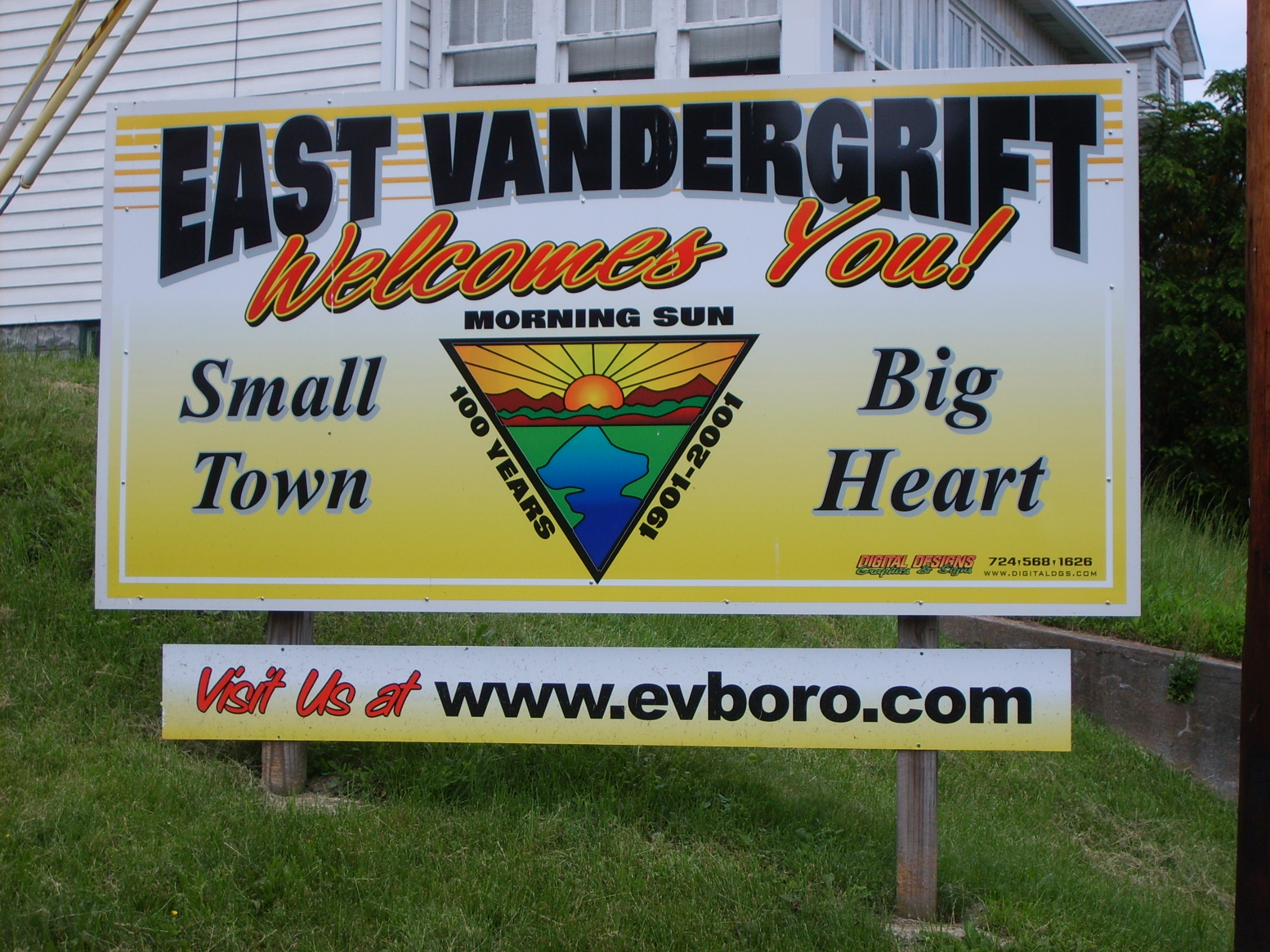 WELCOME, TO THE NEW EAST VANDERGRIFT